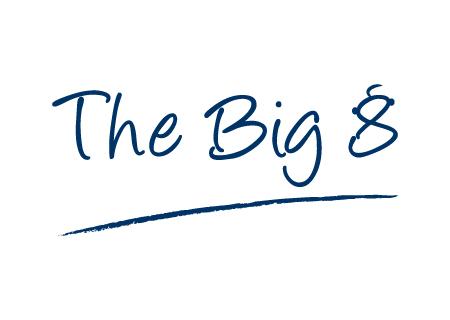 The Big8 logo