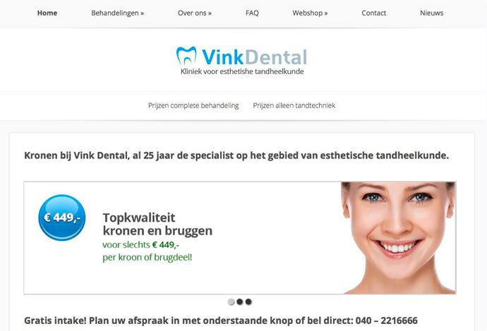 Vink Dental website