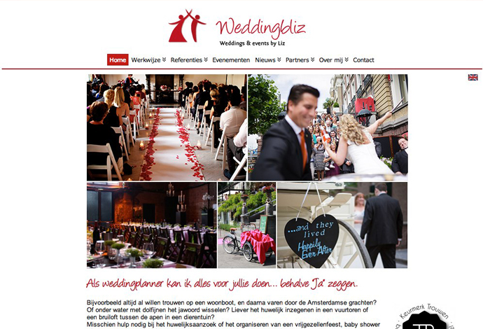 Weddingbliz website